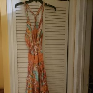 Sean John Silk floral Alter Dress